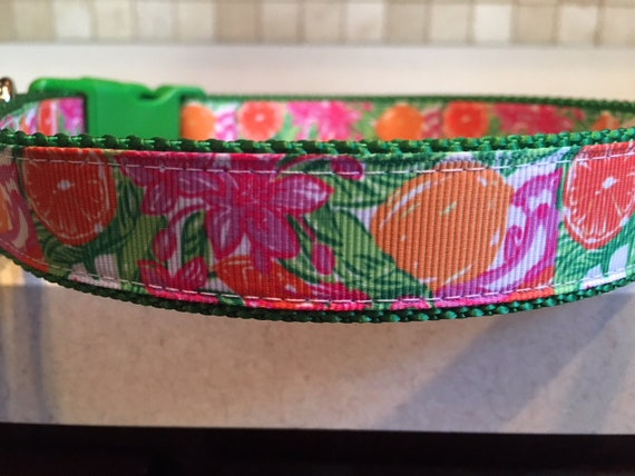 Hibiscus and Oranges Florida themed 1 Large and Medium  d9d6d1323