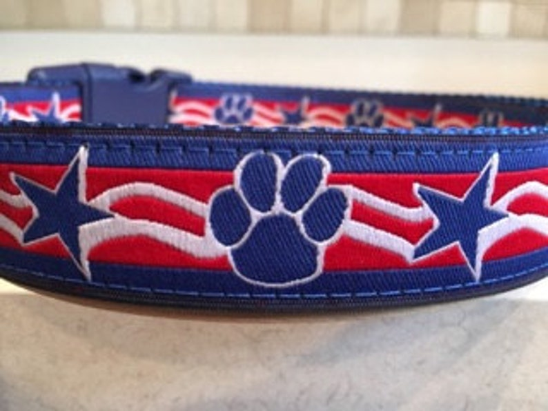 Patriot Paws 4th of July 1 Large Dog and Medium Dog  7f8fb866e
