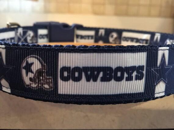 Dallas Cowboys Version II Large and Medium Dog Collar    d38f0e225