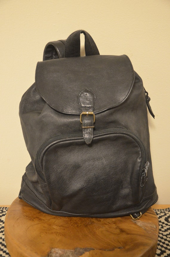 Gino Rossi Italian Leather Synch Backpack