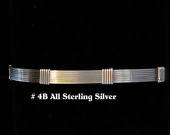 4B - Simplicity Bracelet - all Sterling Silver