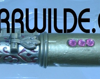 STARR WILDE STEAMPUNK Doctor Who Dr Sonic Screwdriver Lights
