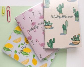 Weekly Pocket Planner / Undated Pocket Planner / Mini Agenda / Undated Agenda / Back to School / Pocket Diary / Undated Diary