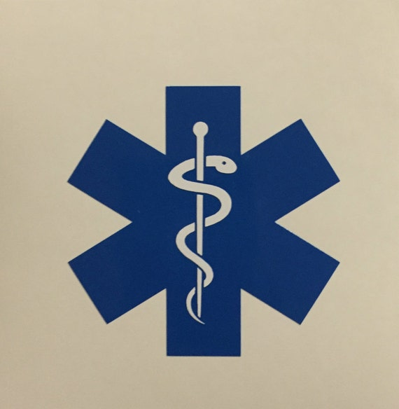Emt Decal Emt Response Sticker Emergency Medical Etsy