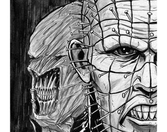 Pin Head Hellraiser - Art Print