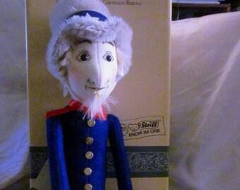 STEIFF UNCLE SAM Doll, 4th of July Doll, Steiff Felt Doll, Patriotic Doll, Uncle Sam Toy, Independence Day Doll, Steiff Toy, Vintage Steiff