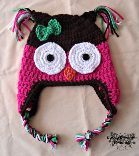 Baby Girl Owl Hat  Toddler Owl Beanie  Owlette Costume   92560481557