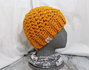 Fitted Chunky Winter Beanie   Perfect Snowboarding Ski Hat   Cute Cottagecore Woodloand Mountain Fisherman Cap   VALERIE BEANIE