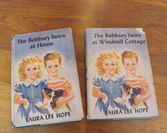 Three Bobbsey Twins 1940s Books