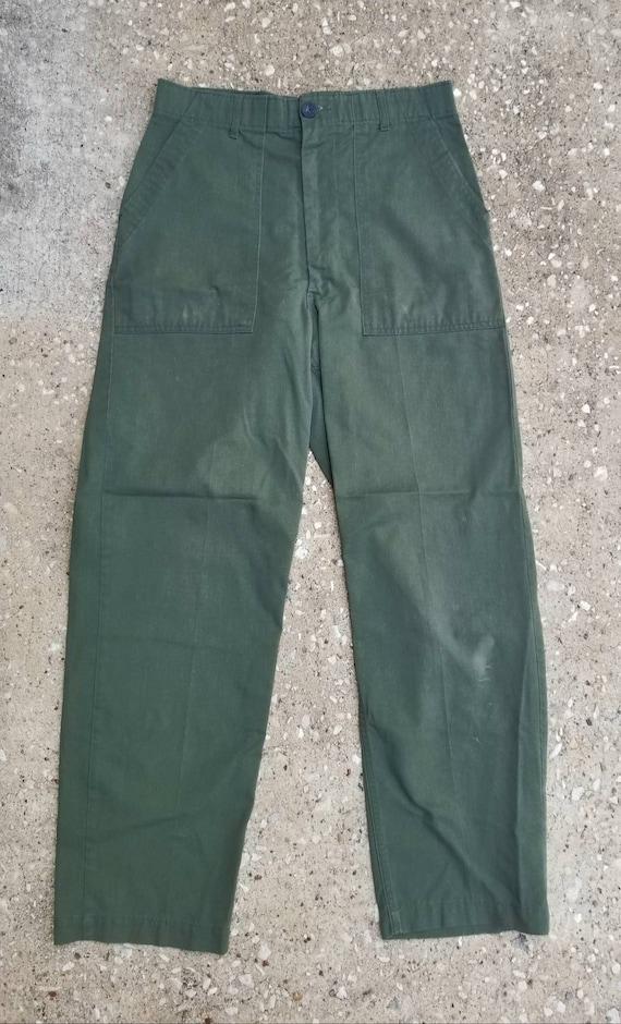 1960's Army Pants, Army Dress Slacks, Korean War P