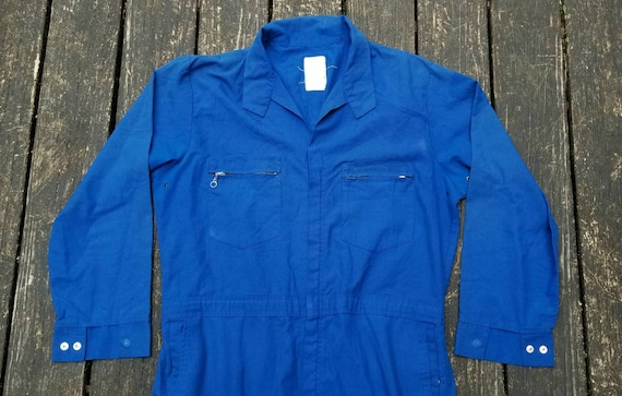 Vintage Coveralls, Boiler Suit, 1980's, Made in US