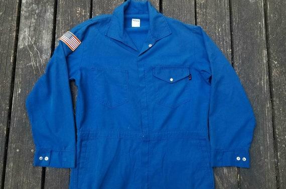 Vintage 1990's Coveralls, Boiler Suit, Men's 44R