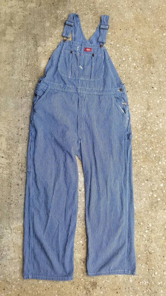 1990's Dickie's Overalls, Vintage Liberty Stripe O