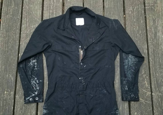 1960's Coveralls, Painters Coveralls, Vintage Work