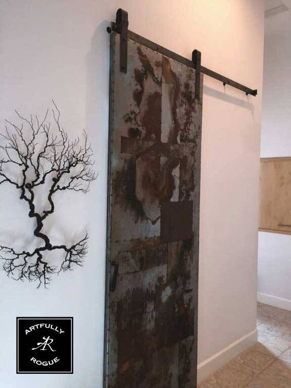 Gentil Barn Door   Metal Barn Door   Artistic Metal Sliding Door   Sliding Barn  Door
