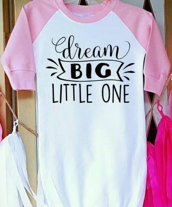 Soñar Con Vestido De Bebé Un Poco Grande Dream Body Bebé Grande Linda Onesie Del Bebé Dream Big Baby Niña Vestido Linda Bebé Niño Mono