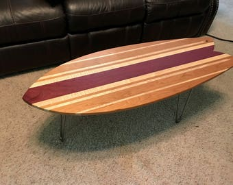 Purpleheart Table | Etsy