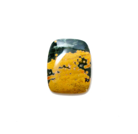 Design Your Own Ring Cheap | Ocean Jasper 33 90 Carat Fancy Cut Cabochon Buy Loose Or Etsy