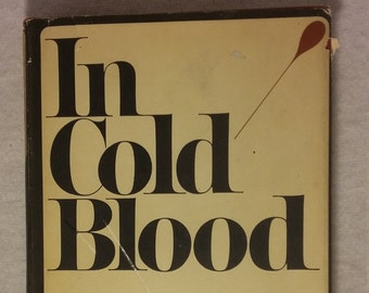 In Cold Blood by Truman Capote 1965, Vintage In Cold Blood, Vintage Truman Capote, Vintage Horror, Vintage Literature, Vintage Fiction