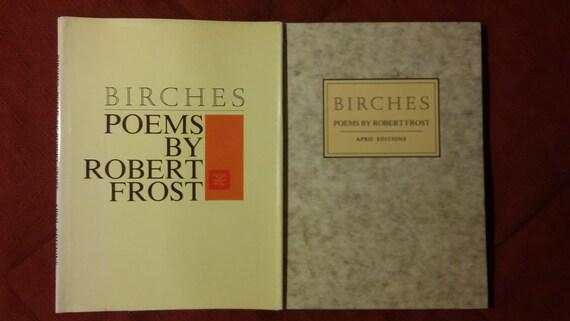 birches robert frost poem