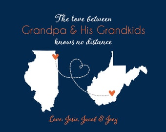 Father's Day Gift for Grandpa, Papa, Poppy, Grandfather, Grandkids, Grandson, Grandparents, Grandfather Gift Fathers Day Gift Grandpa Dad