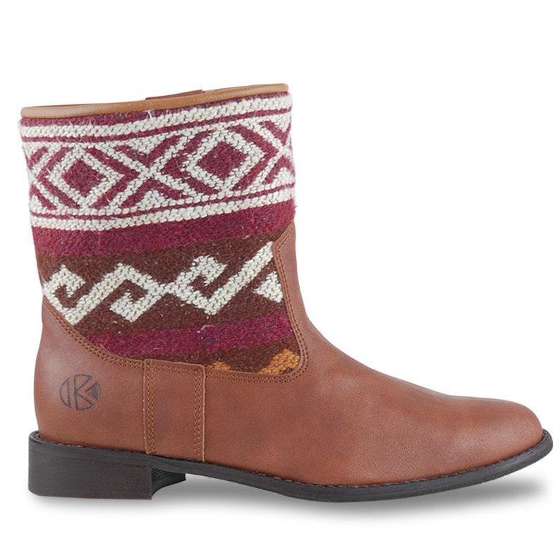 Vegan Kilim Boots