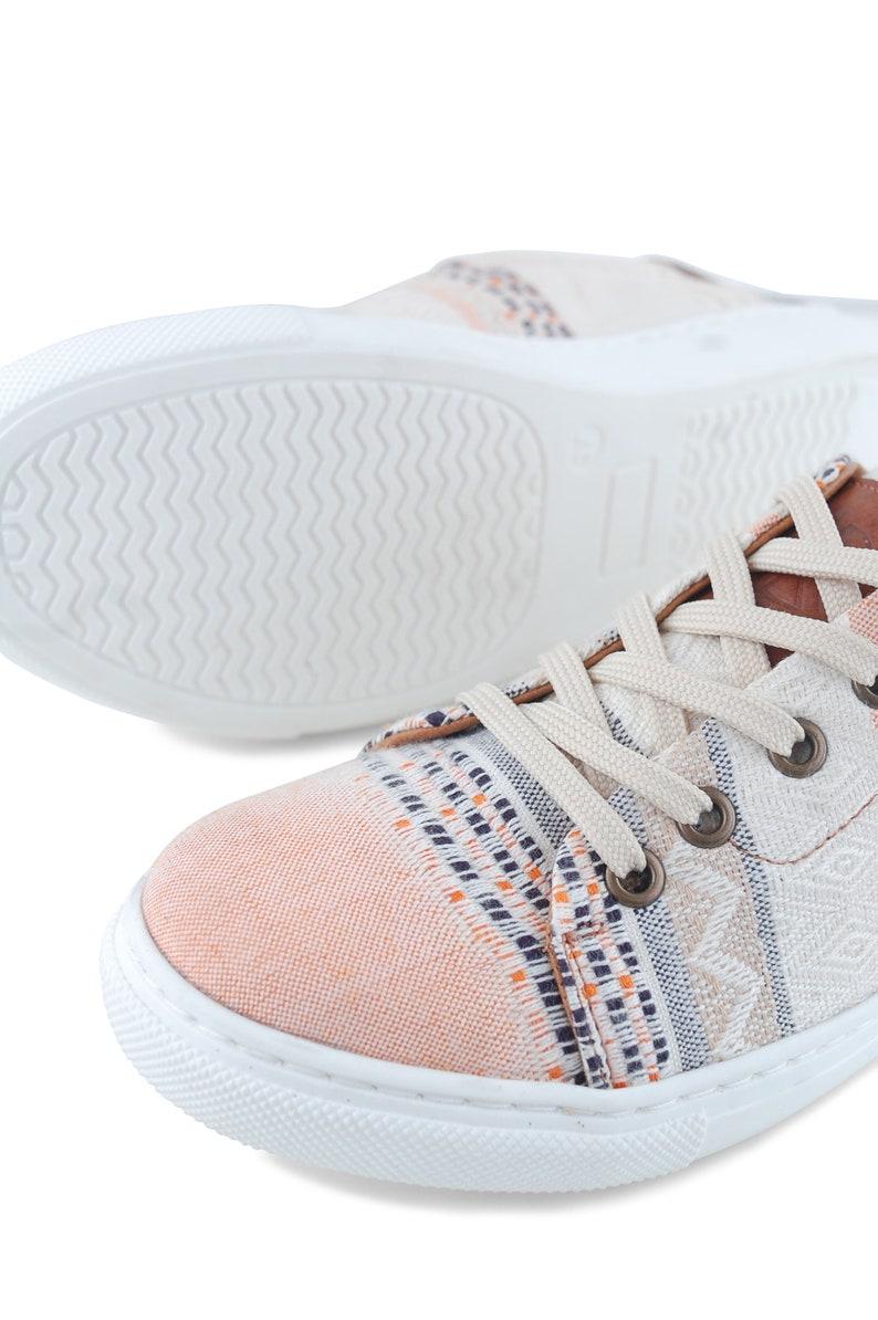 Sneakers Donna Boho fatto a mano IcxbL7qo
