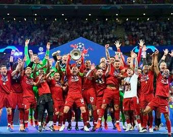 9x6 Andy Evans Photos Liverpool Football Club Champions League European Cup Winners Parade 2019 Photograph Print