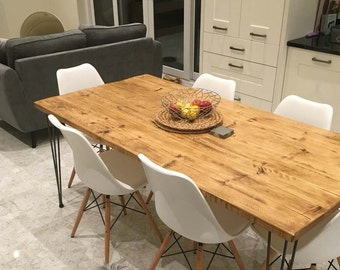 kitchen dining tables etsy uk