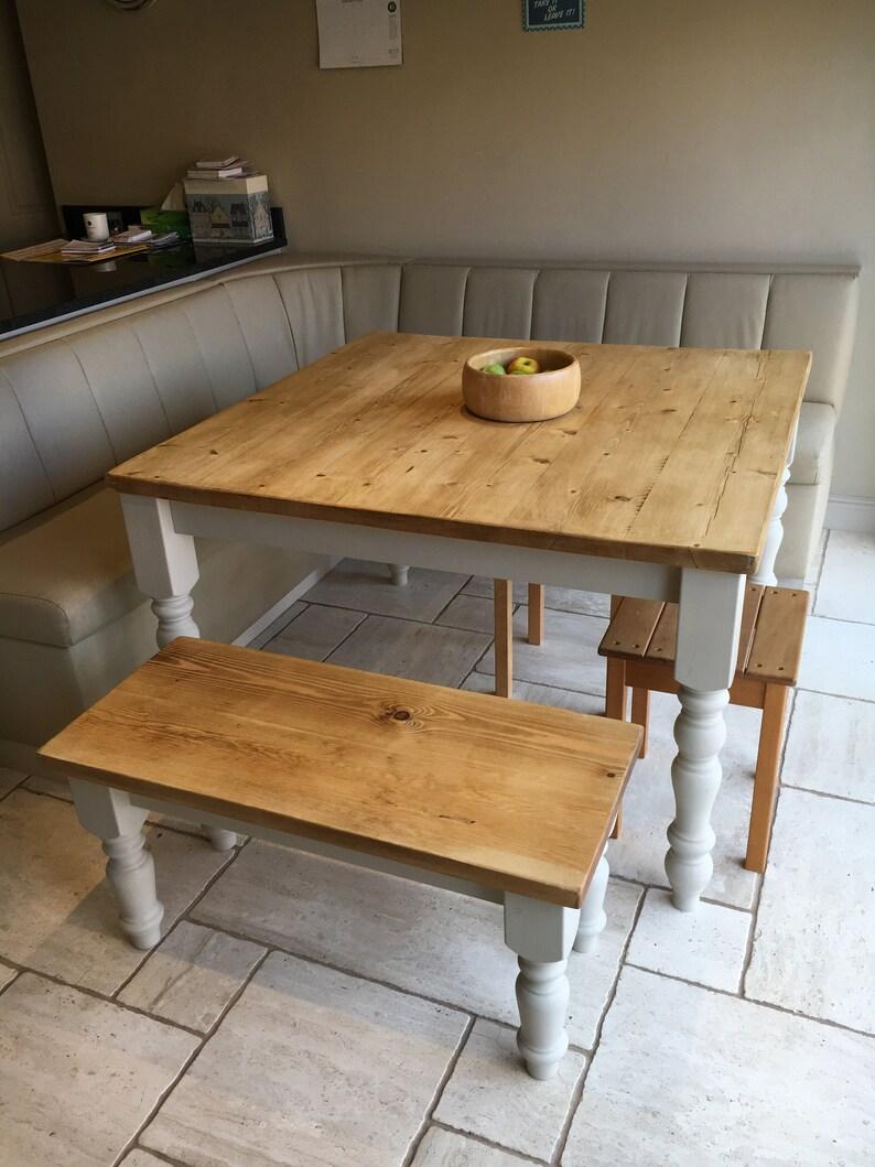 Farmhouse Kitchen Table Rustic
