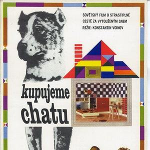 Onion Boy 50/'s Sweet Poster from Czechoslovakia Original Vintage Cinema Beautiful Poster for Children Soviet Era