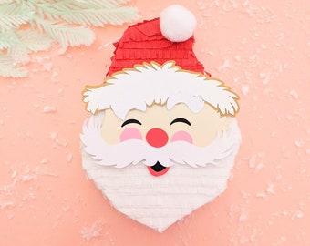Mini Santa Piñata (1), Jolly Santa Decoration, Christmas Gift Card Holder, Christmas Decoration, Santa Claus Decoration, Santa Gift Box