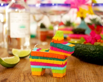 Mini Cactus Pinatas 3 Party Decorations Fiesta Cinco De Etsy