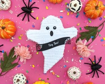 Halloween Mini Pinata (1), Mini Ghost Piñata Party Favor, Personalized Pinata, Boo Basket, Boo Bag, Cute Halloween, Hey Boo, 1 PINATA
