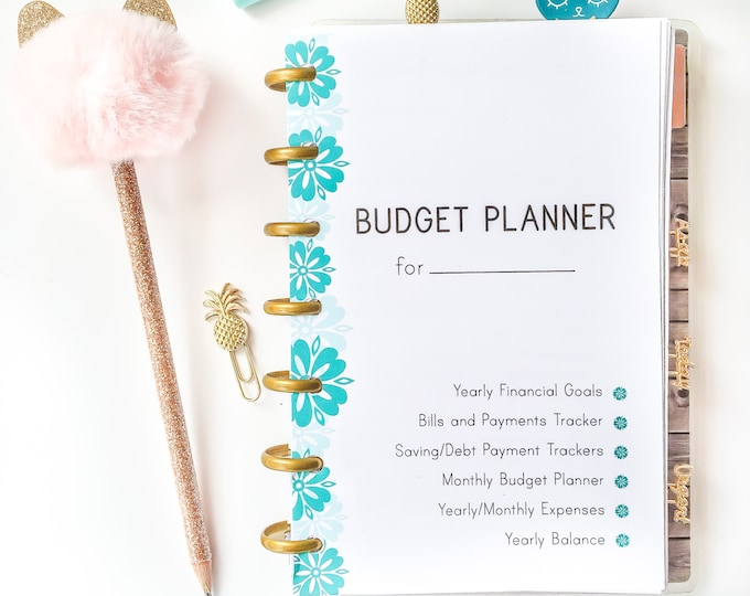 Budget Planner Printable Made to fit Mini Happy Planner Inserts