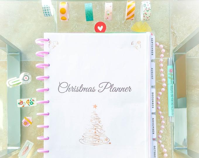 Christmas Planner Big Happy Planner Printable Christmas Menu Stocking Stuffer Gifts Ideas December Calendar Christmas Instant Download PDF