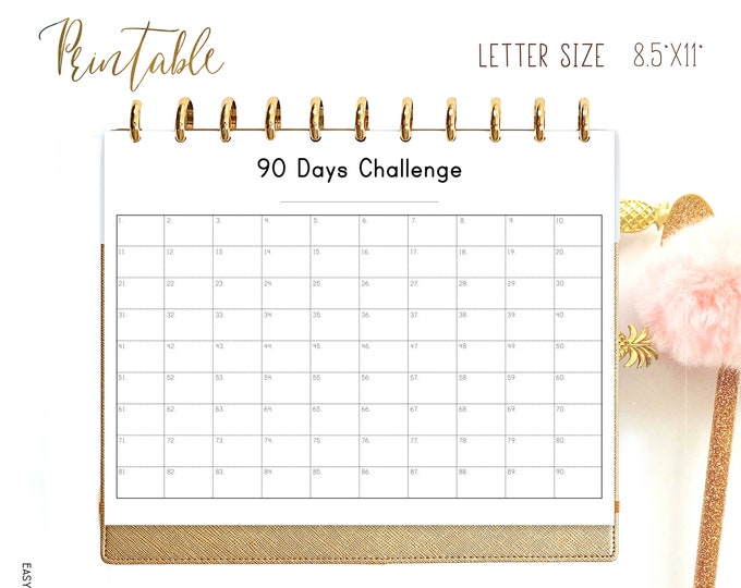 Habit Tracker Printable, Weight Loss Tracker made to fit Big happy Planner Inserts