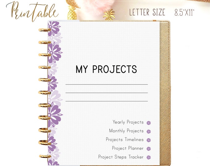 Productivity Planner, Big Happy Planner Inserts, Printable To Do List  Instant Download