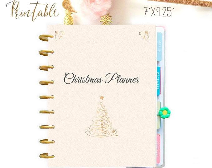 Christmas Planner Kit, made to fit Erin Condren Inserts and Happy Planner Christmas Printable