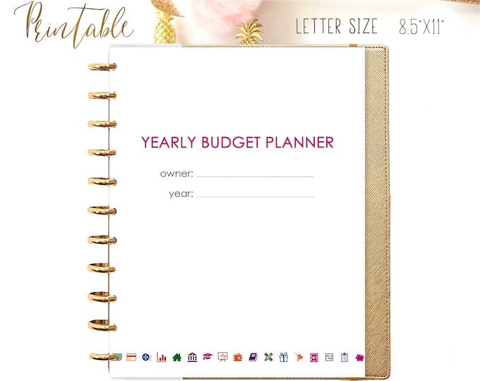Financial Planner Letter Financial Organizer Printable Budget Planner Budget Binder Budget Organizer Family Finance Binder Monthly Budget