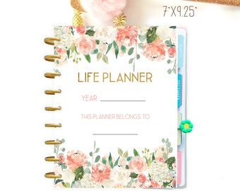 Life Planner 2021, Printable Planner Pages made to fit Classic Happy Planner Printable Inserts