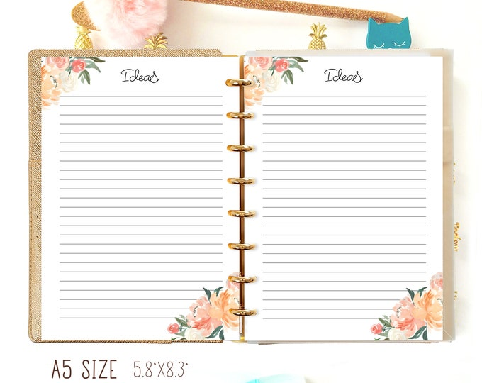 To Do List Printable A5, To do list planner, A5 Planner Inserts