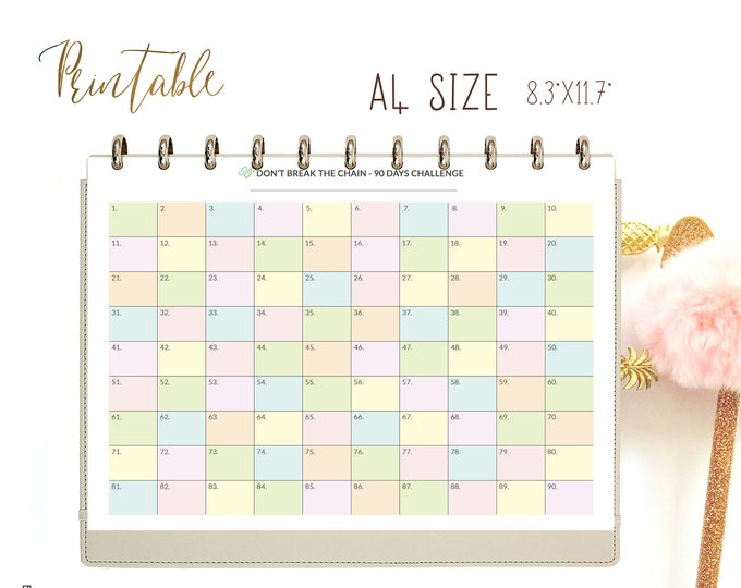 Weight Loss Tracker, Routine Chart, Printable, Binder Inserts.
