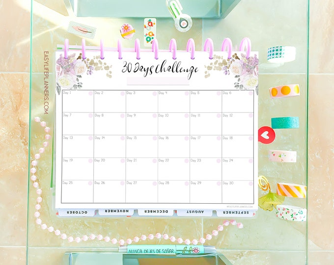 Health Tracker, Habit tracker, made to fit Big Happy Planner Inserts, Medication tracker,