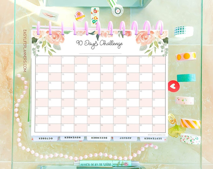 Habit tracker printable, Weight Loss Tracker, Routine Chart, workout log, Big Happy Planner Inserts
