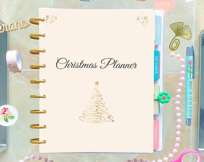Christmas Planner Kit, made to fit Erin Condren Inserts and Happy Planner Christmas
