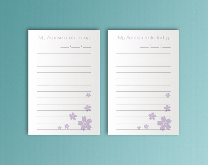 Pocket TN Inserts, pocket ring planner, Travelers Notebook Printable