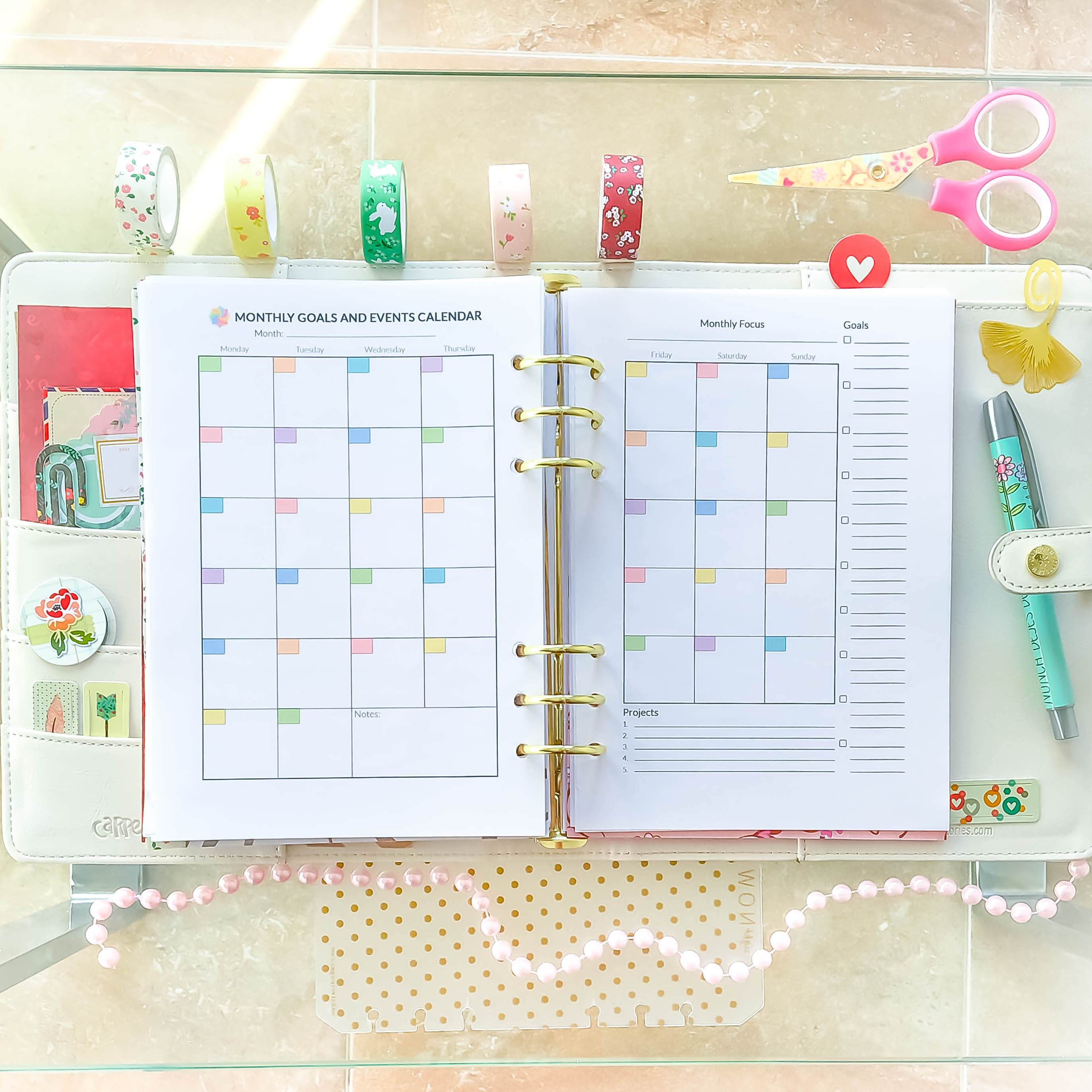 picture relating to Full Focus Planner Pdf known as A5 Planner Inserts Regular Planner Printable PDF Month-to-month Organizer Thirty day period Upon 2 Web pages A5 Filofax Month-to-month Refills 5.8 x 8.3 Instantaneous Obtain