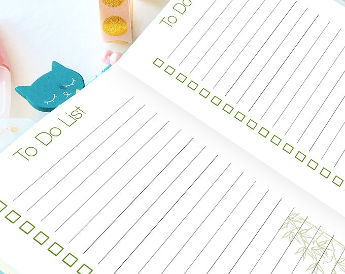 A6 TN Inserts, To Do List Printable, A6 Planner Insert.