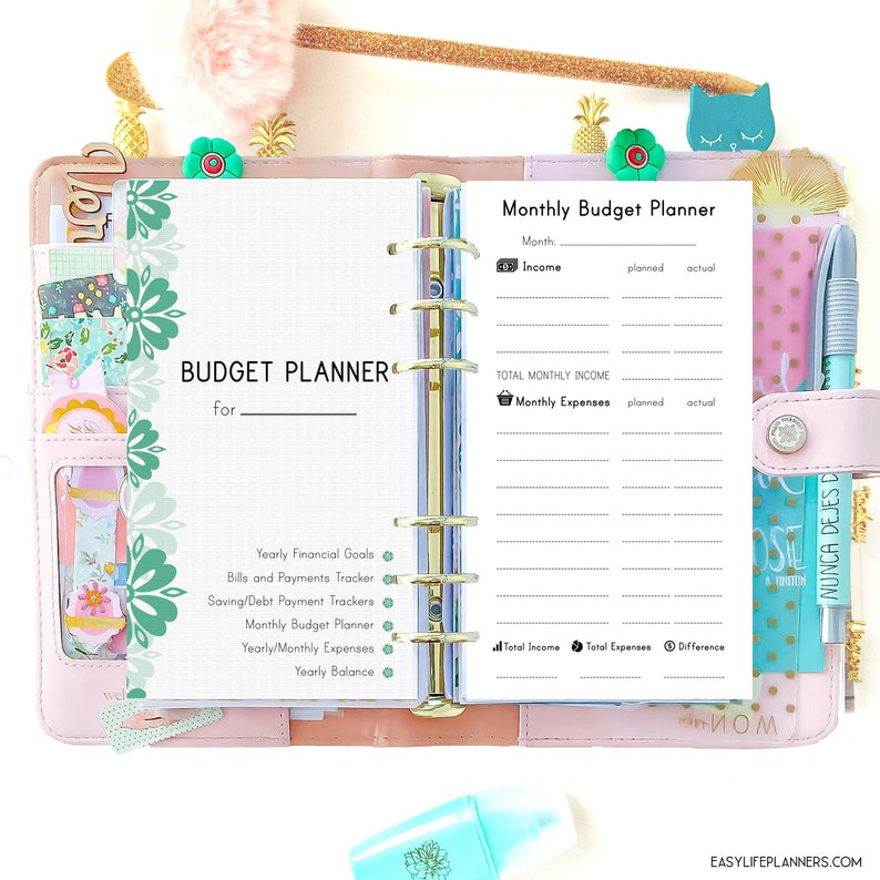Finance Planner Expense Tracker Debt Tracker Personal Size image 0